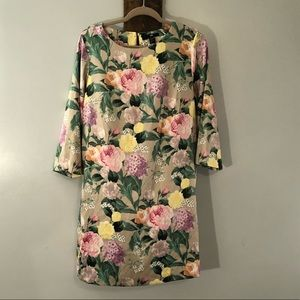 Floral dress by H & M, size 14